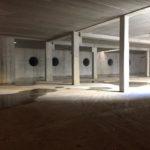Handmatige betonherstellingen betonstructuur