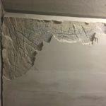 Beschadiging onderkant betontrap