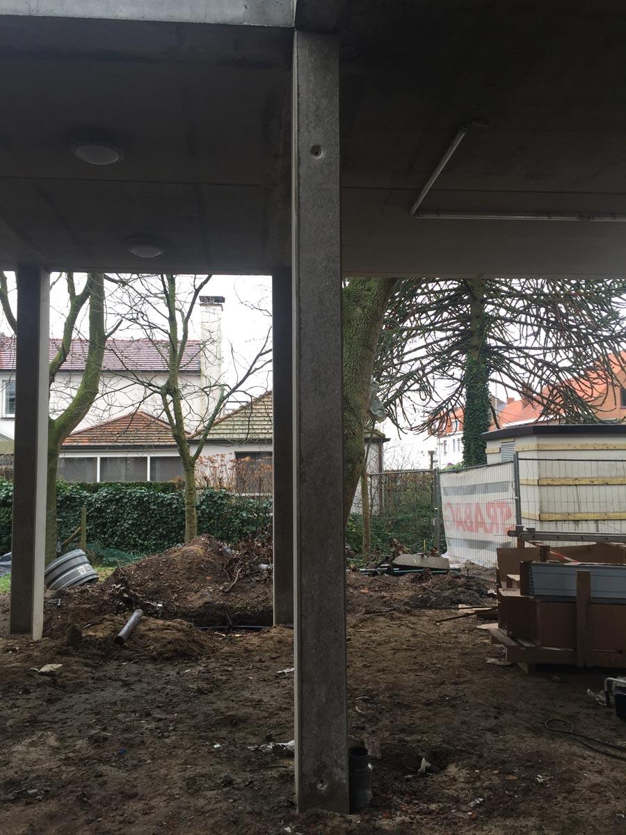 Bij te werken betonstructuur - esthetische betonherstelling