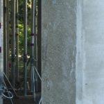 Bij te werken betonstructuur