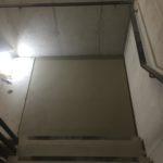 Bijgewerkt bordes betontrap