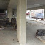 Bijgewerkte stortzijde betonstructuur