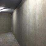 cementering betonwand