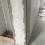 Retrait de poteaux et rénovation esthétique complète de la structure en béton: phase 1