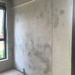 Mur en béton apparent à rénover
