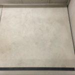 Bijgewerkt bordes betontrap na volledige afwerking