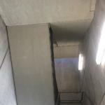 Bijgewerkte afgestreken zijdes prefab betontrap