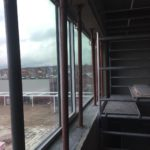 Bij te werken dagkanten raam- en deuropening - esthetische betonherstelling