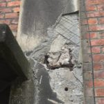 Te behandelen betonstructuur