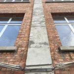 Behandelde betonstructuur 1ste fase