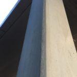 Bijgewerkte betonstructuur (inclusief vellingskant)