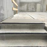 Bijgewerkt bordes betontrap - esthetische betonherstelling