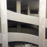 Esthetisch bijgewerkte helicoïdalen - esthetische betonherstelling
