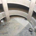 Esthetisch te behandelen helicoïdalen - esthetische betonherstellingen